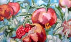 pomegranates, resurrection