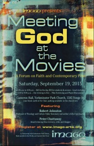 Meeting God at the Movies