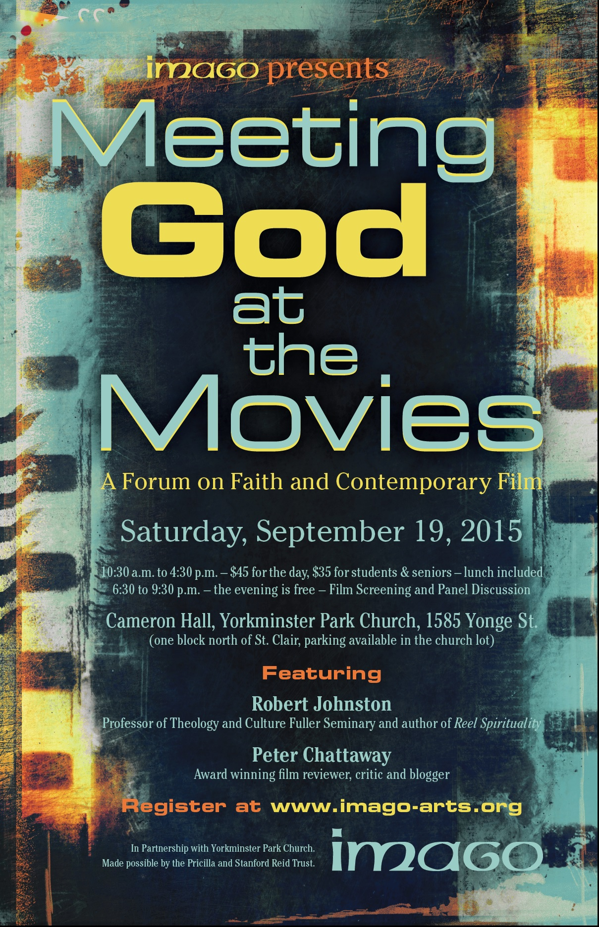 VIDEO - Meeting God at the Movies - an imago conversation